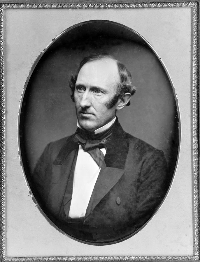 History Photograph - Wendell Phillips 1811-1884 American by Everett