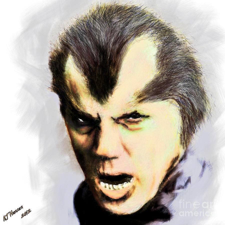 Arne J Hansen Photograph - Werewolf Of London by Arne Hansen