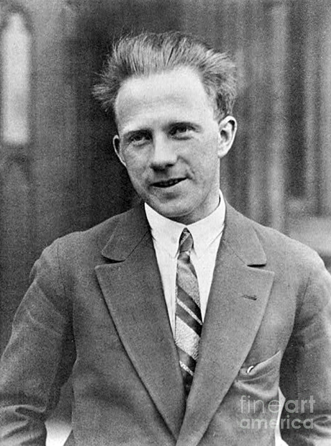 Werner Heisenberg, German Theoretical Photograph by ...
