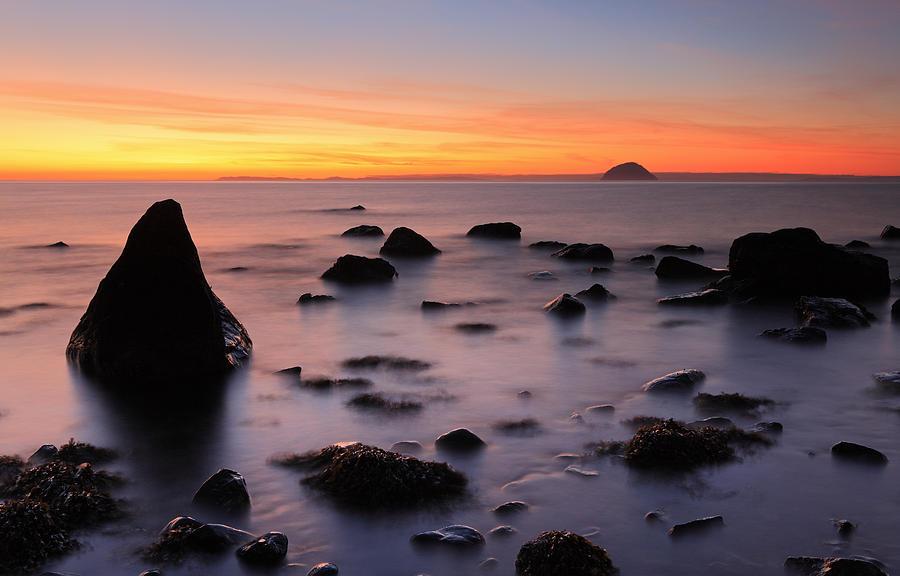 Sunset Photograph - West Coast Sunset by Grant Glendinning