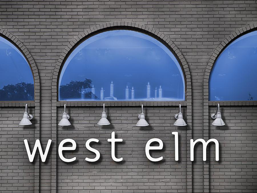 Digital Photography Photograph - West Elm by Paul Wear