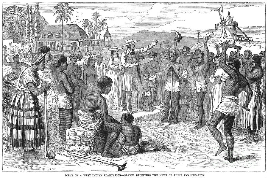 West Indies Emancipation Photograph By Granger