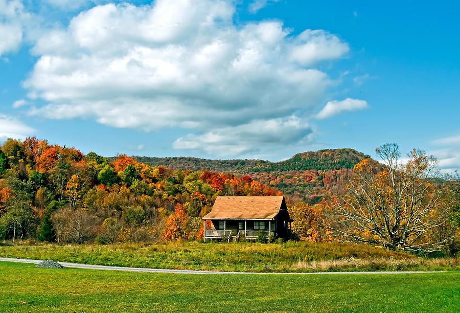 West Virginia Photograph - West Virginia Homestead by Steve Harrington