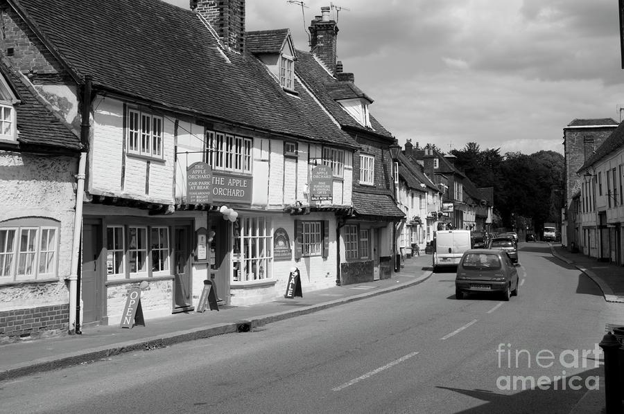 Urban Photograph - West Wycombe by Donald Davis