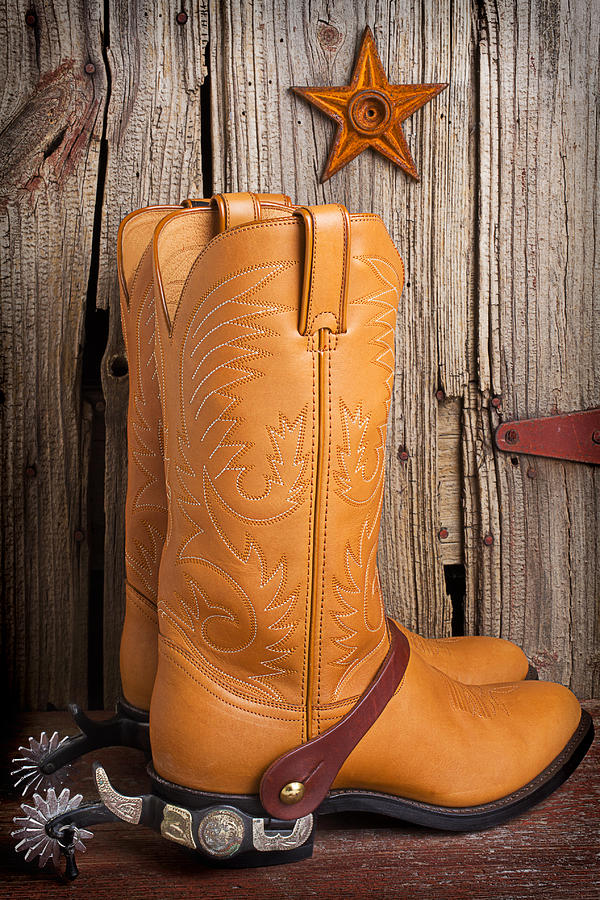 Western Boots And Spurs Photograph By Garry Gay