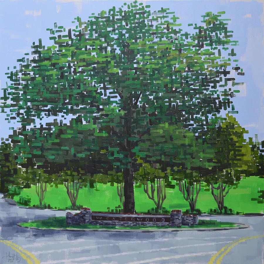 Westerwood Tree by John Gibbs