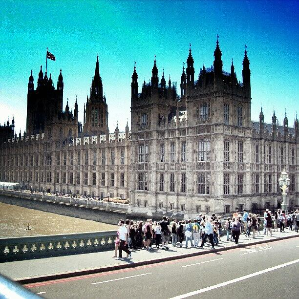 England Photograph - Westminster, London 2012 | #london by Abdelrahman Alawwad