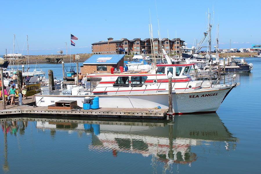 Westport Marina Photograph by Michael Wolfe