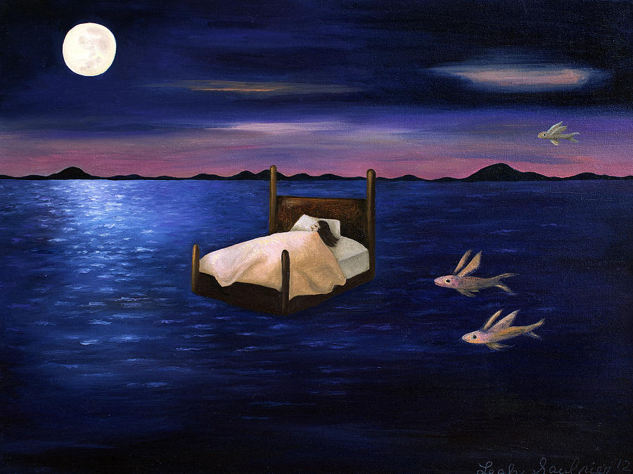 Ocean Painting - Wet Dreams by Leah Saulnier The Painting Maniac