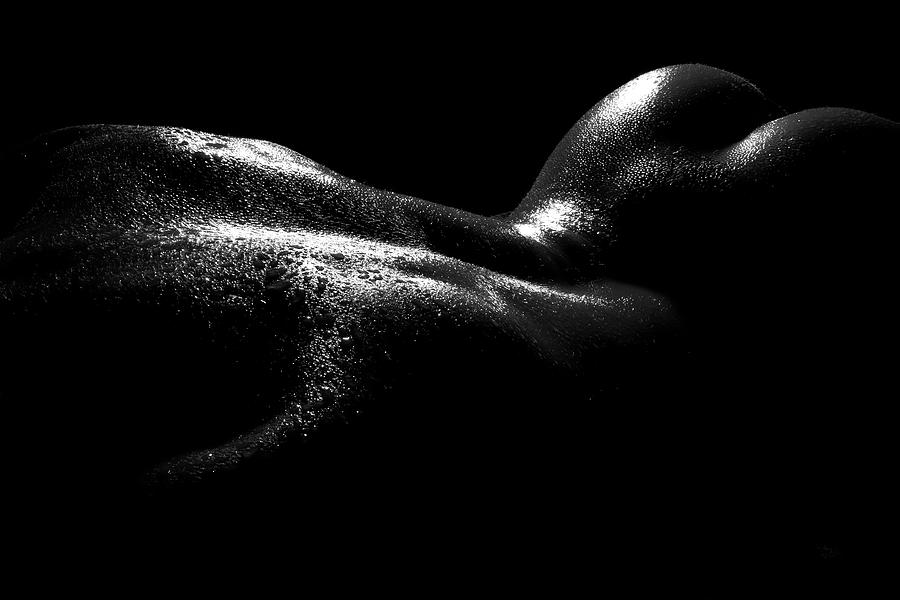 Nude wet photography
