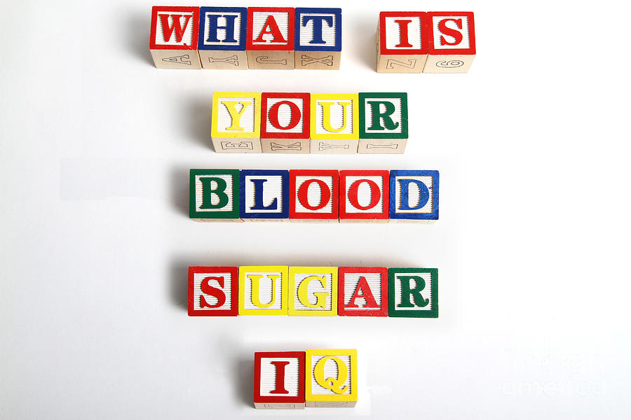 Still Life Photograph - What Is Your Blood Sugar Iq by Photo Researchers