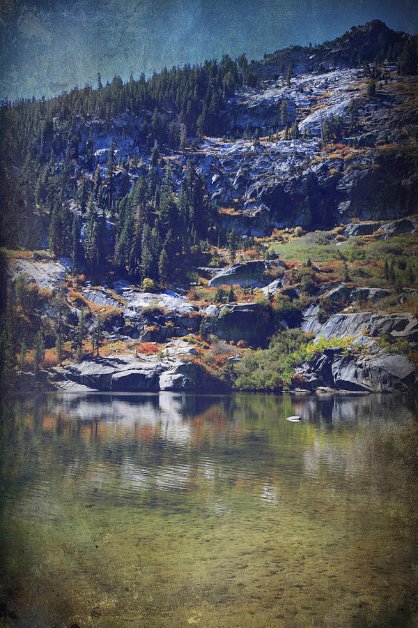 Upper Angora Lake Photograph - What Lies Before Me by Laurie Search