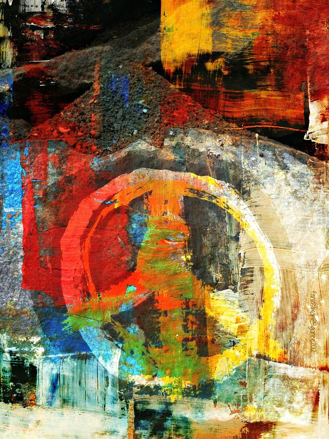 Psalm 1 Mixed Media - What Peace On Earth by Fania Simon
