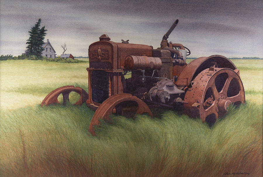 Landscape Painting - What Rust Hath Wrought  by Glen Heberling