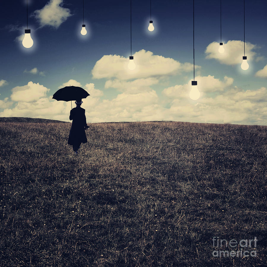 Conceptual Digital Art - What You Dont Want To See by Aimelle