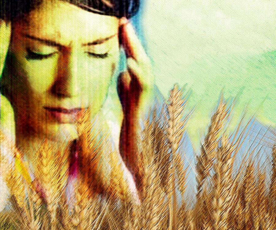 Wheat Photograph - Wheat Allergy by Hannah Gal