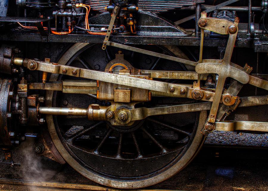 Aged Photograph - Wheel by Gert Lavsen