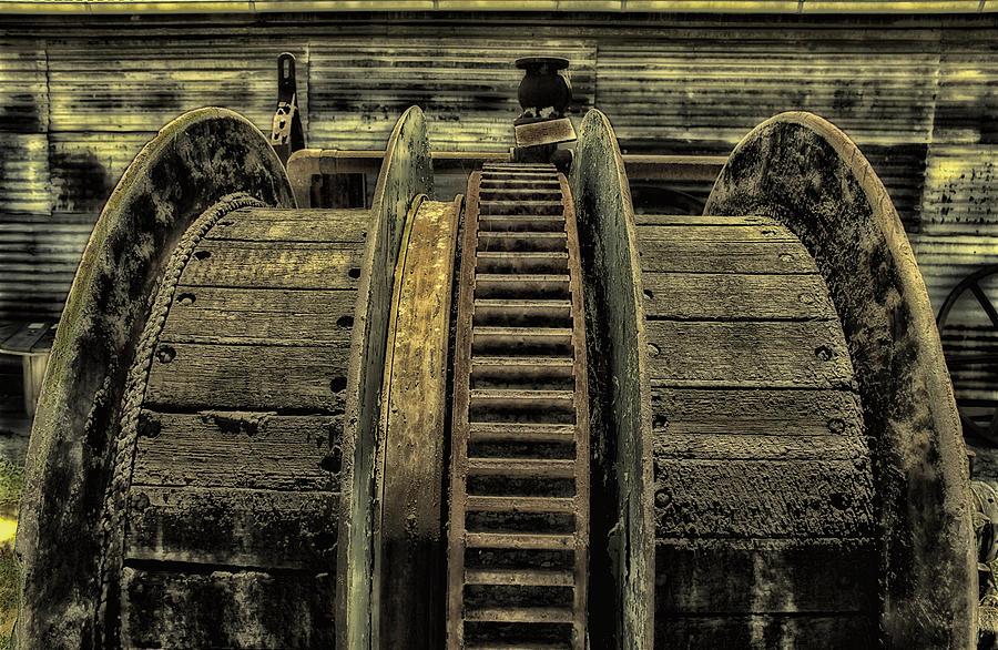 Wheel Photograph - Wheel Of Industry by John Monteath