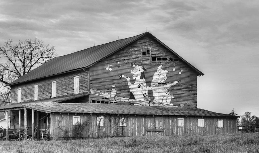 Dance Photograph - When The Farmers Away Bw by JC Findley