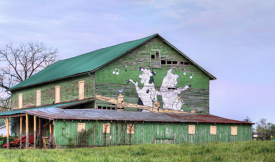 Dance Photograph - When The Farmers Away by JC Findley