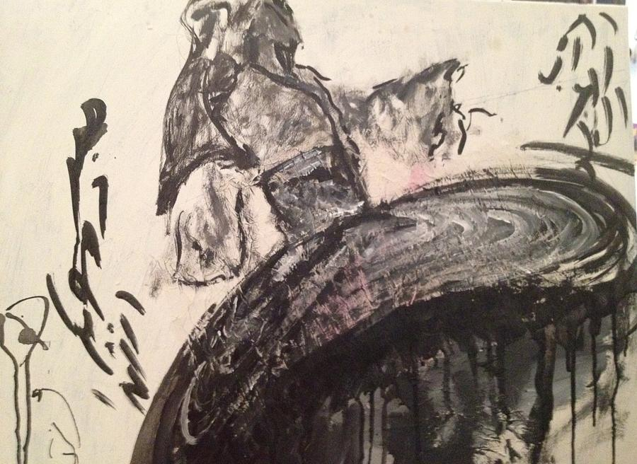 Painting - Where by Jasmin Jumah