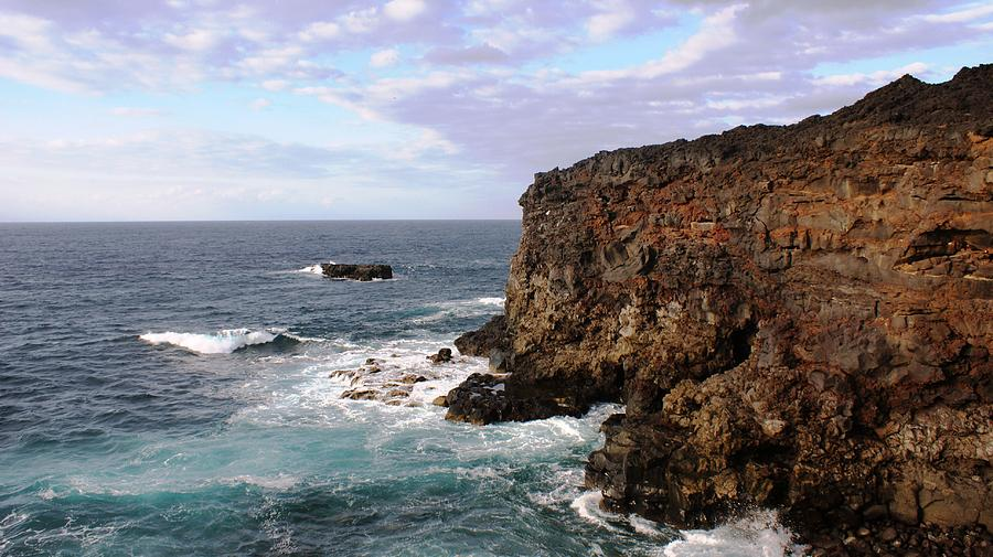 Landscape Photograph - Where Land Meets Sea by Luis and Paula Lopez