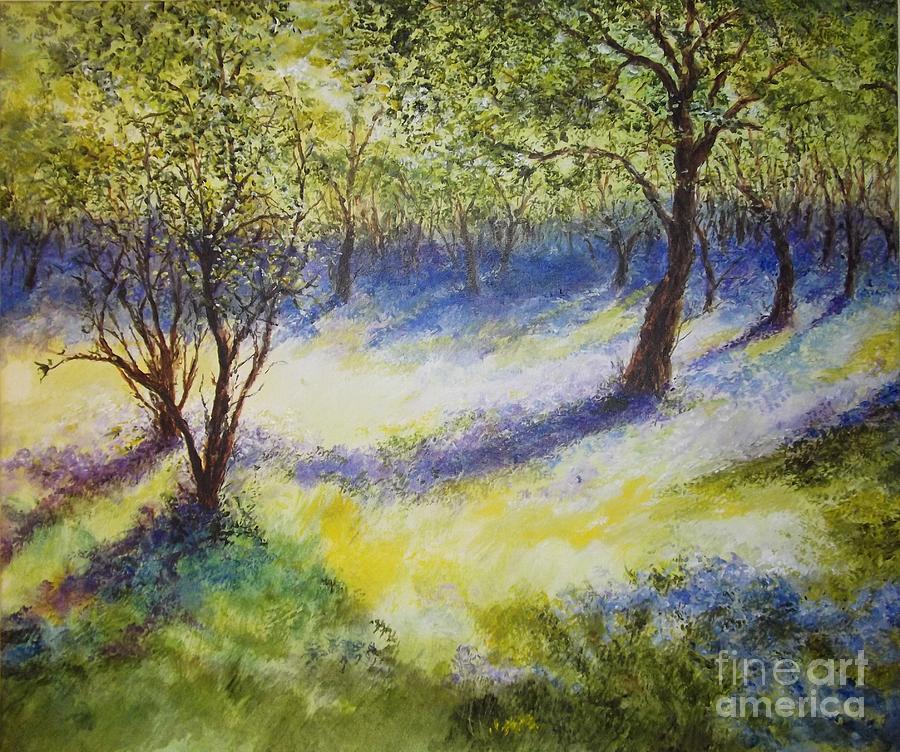 Where Spirits Dance... Painting