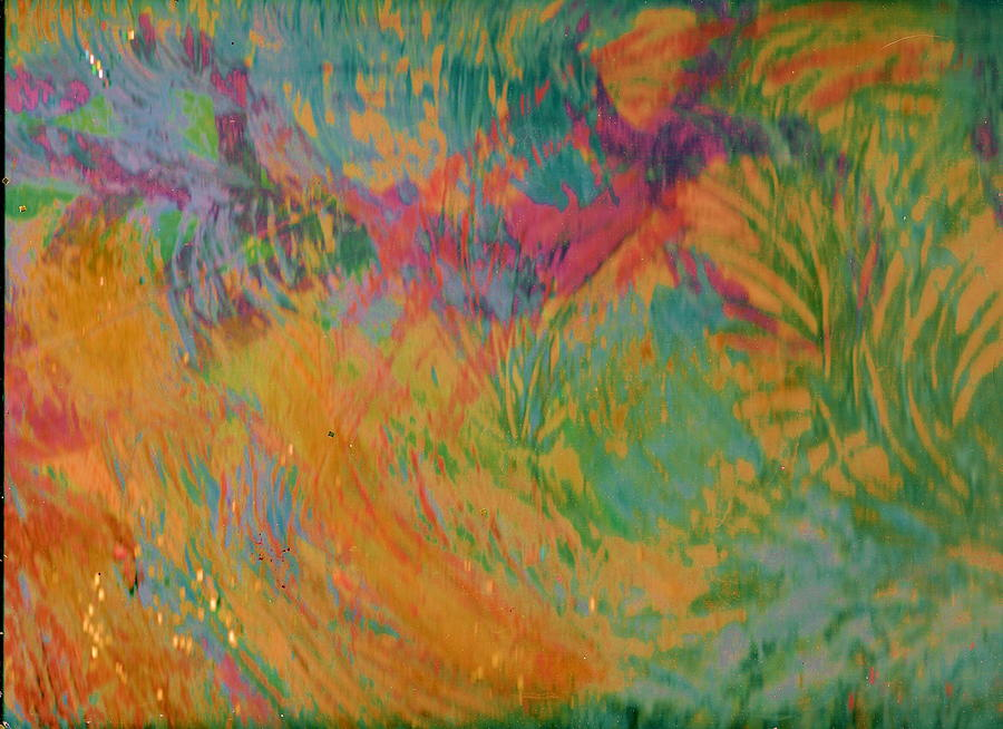Orange Painting - Whim And Vigor by Anne-Elizabeth Whiteway