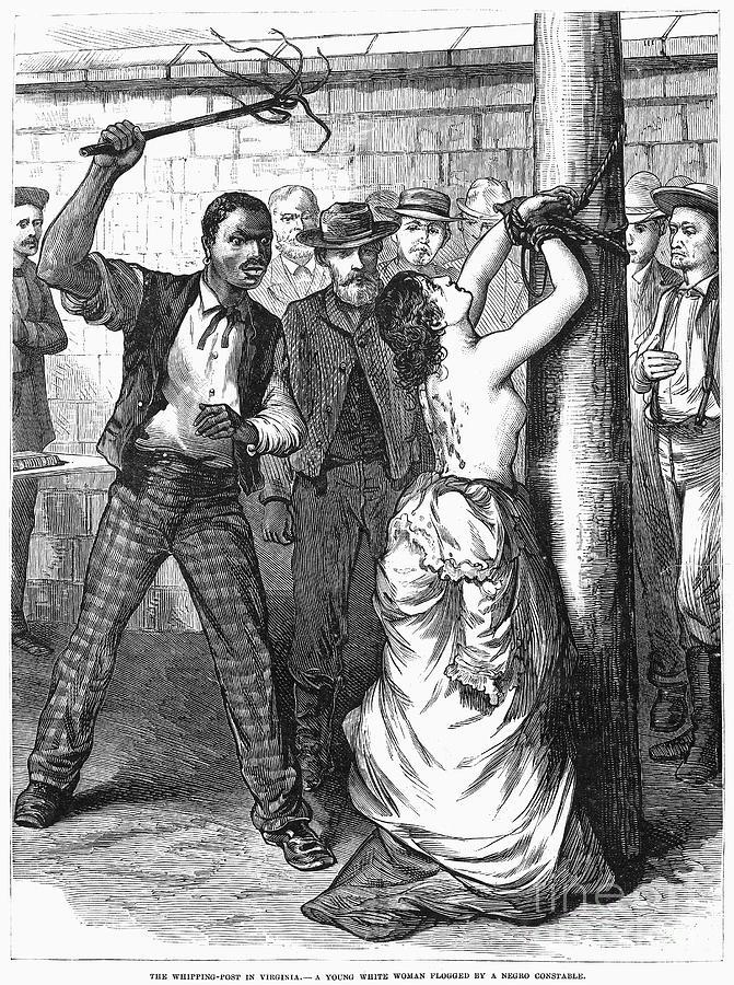Flogging of men by women