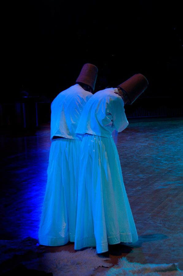 Mistic Photograph - Whirling Dervish - 2 by Okan YILMAZ