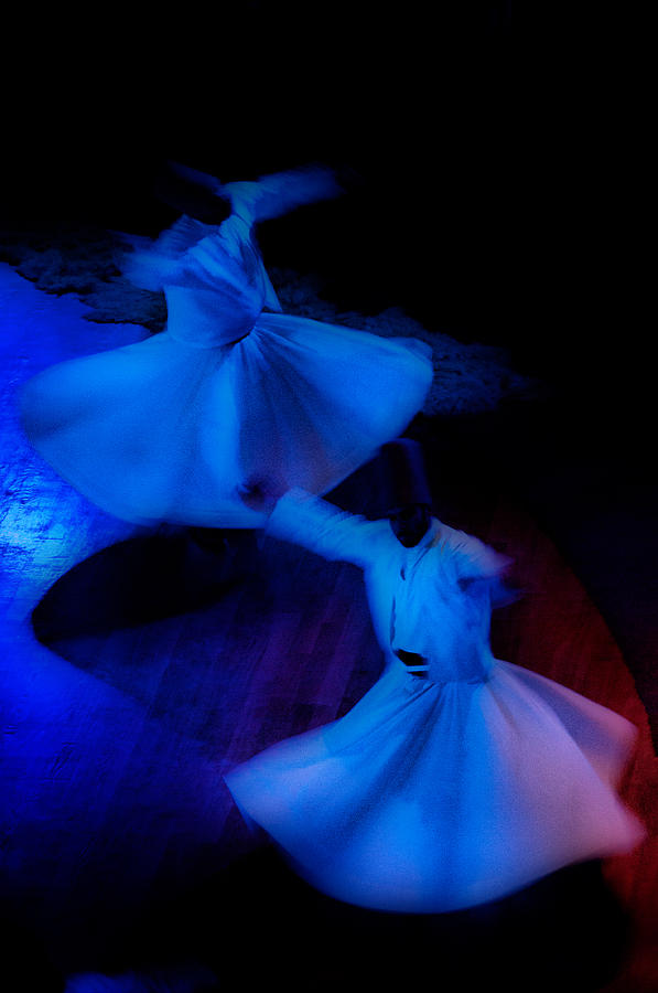 Mistic Photograph - Whirling Dervish - 3 by Okan YILMAZ