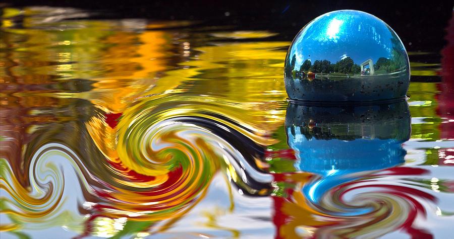 Water Photograph - Whirlpool  by Elizabeth Hart