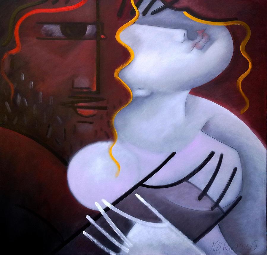 Man Painting - Whisper by Nikolai Rusev