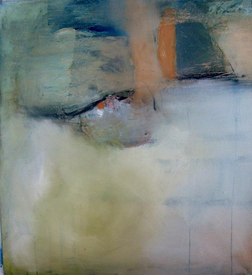 Large Abstract Painting - Whispered Back by Brooke Wandall