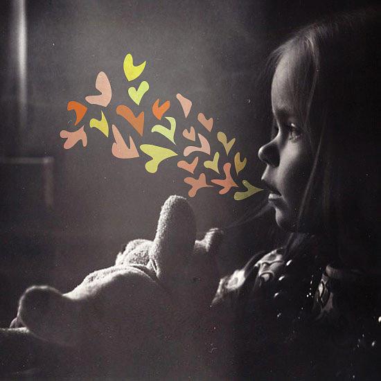 Girl Digital Art - Whispering by Mike Bahn