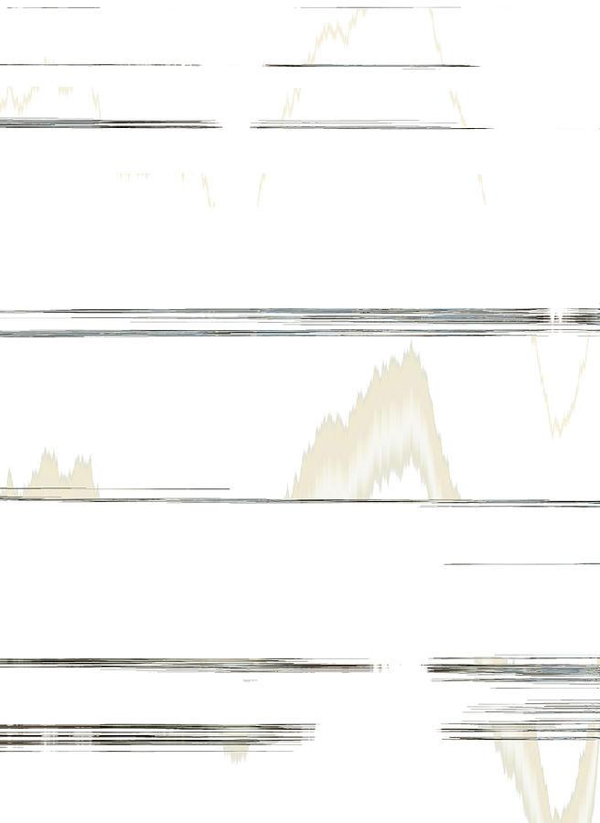 Abstract Digital Art - Whispers by Lenore Senior