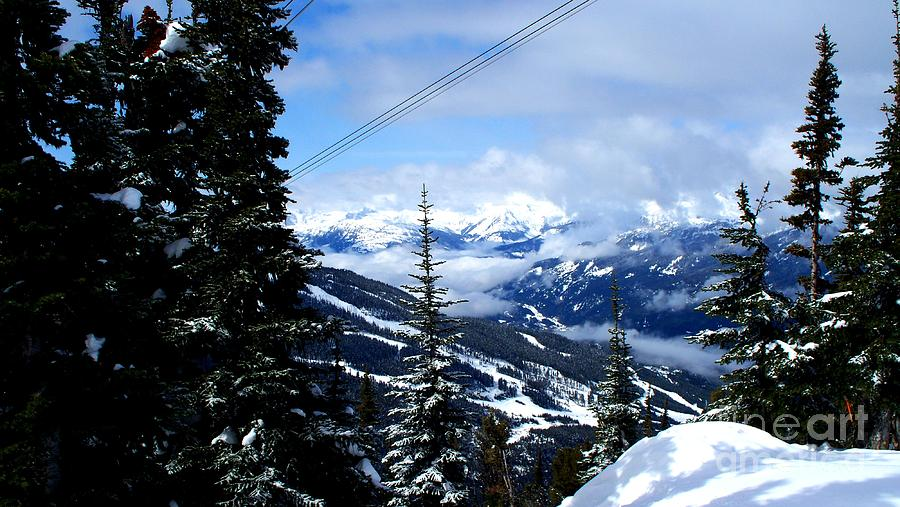 Whistler Photograph - Whistler View  2 by Tanya  Searcy
