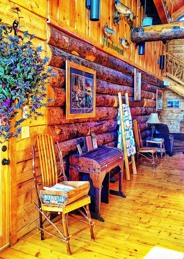 Still Life Photograph - White River Lodge by John Derby