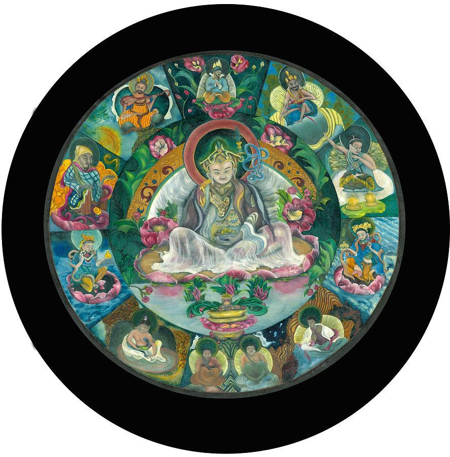 Goddess Tara Mandala Svahha Devi 17 Painting White