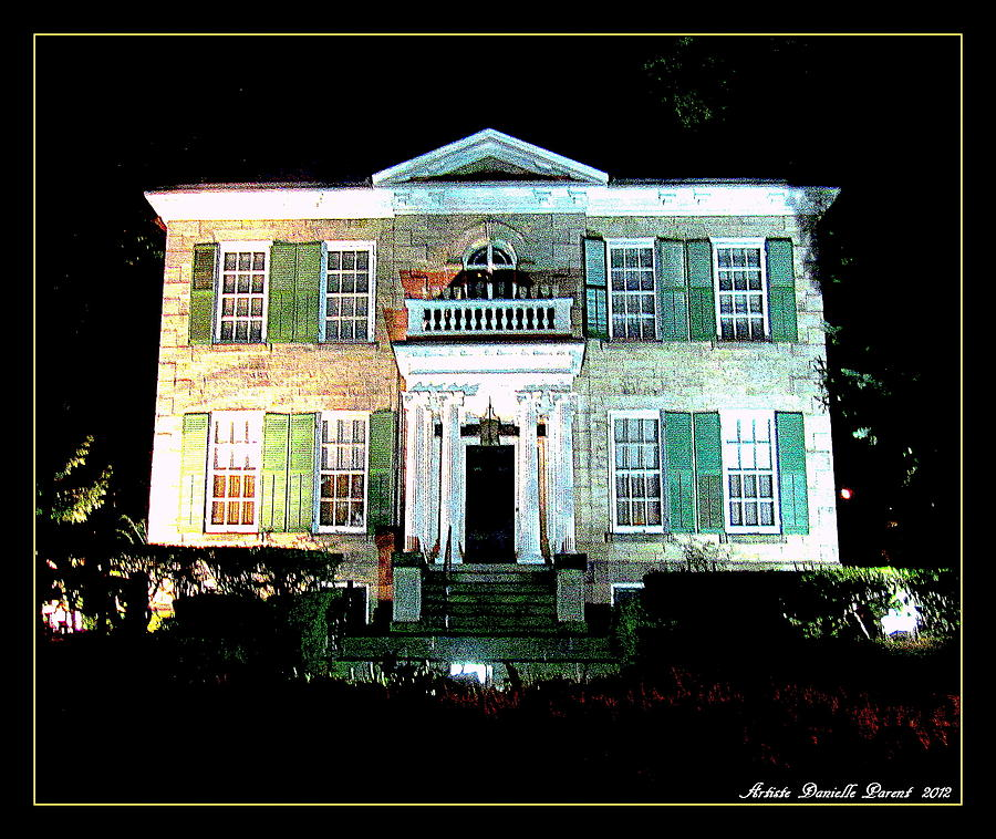 Hamilton Photograph - Whitehern Historic House And Garden by Danielle  Parent
