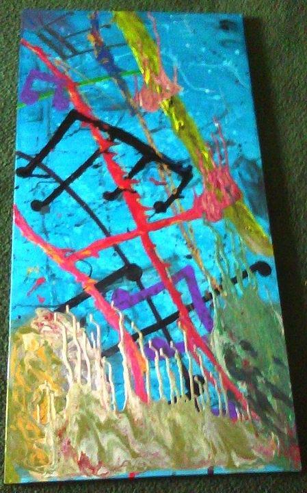 Whoa Painting by Jennie  Bailey
