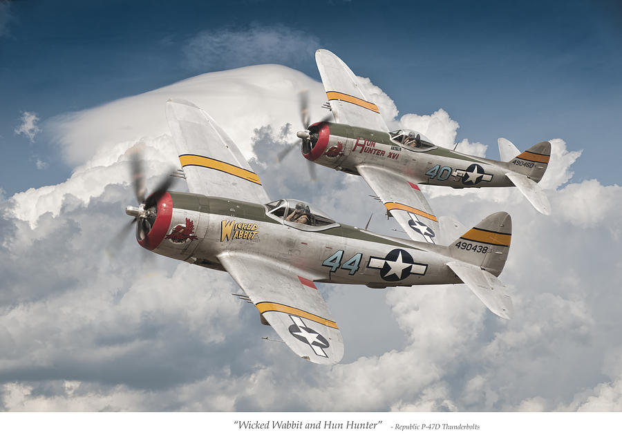 Thunderbolt Photograph - Wicked Wabbit And Hun Hunter by Jeff Stephenson