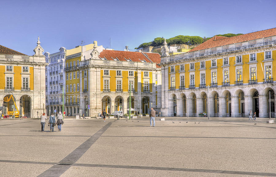 Lisbon Photograph - Wide Last Day In Lisbon by Miguel Garcia
