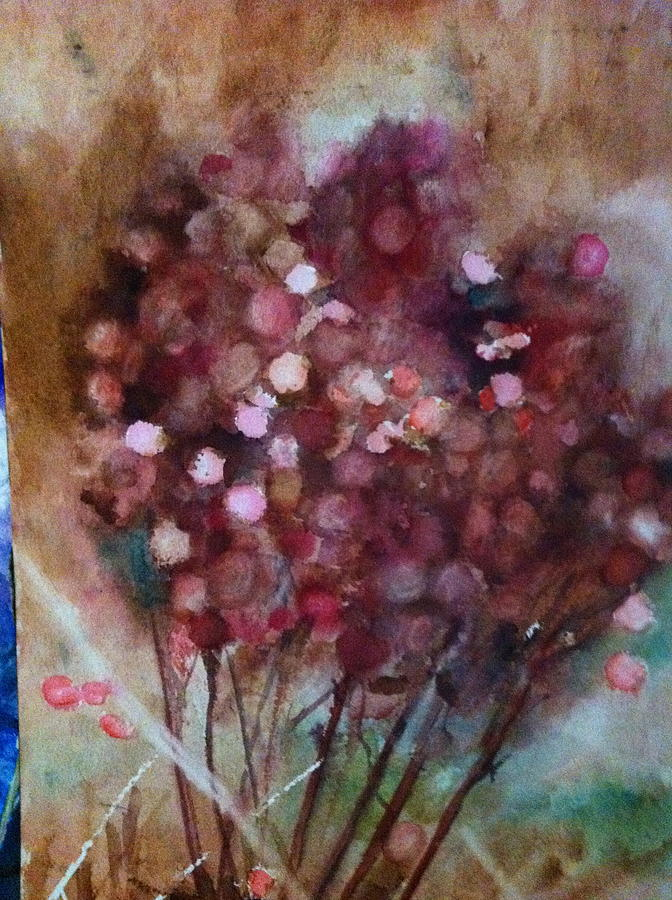 Land Scape Painting - Wild And Beautiful by Giti Ala