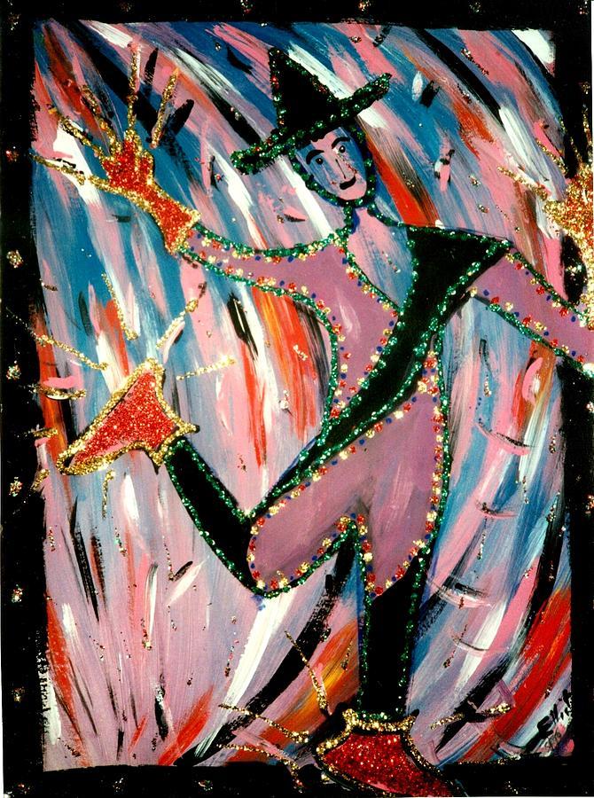 Minstrel Painting - Wild Heart by Eliezer Sobel