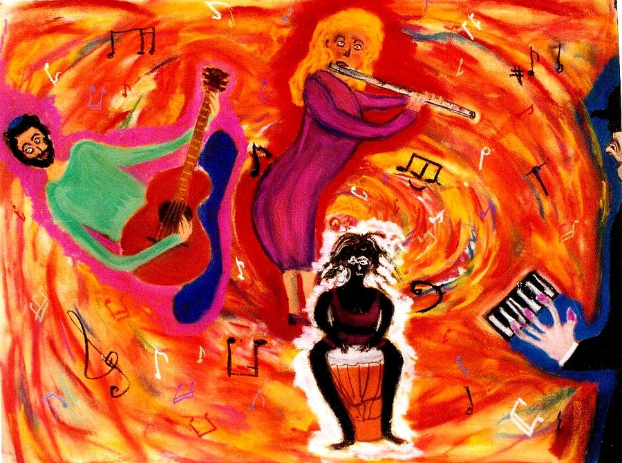 Guitar Pastel - Wild Music by Eliezer Sobel