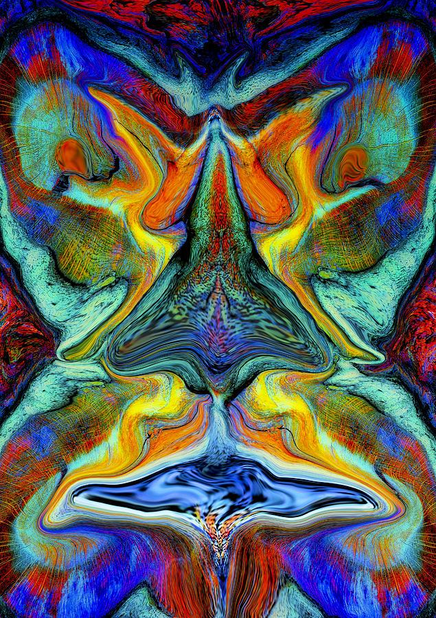 Fantasy Digital Art - Wild Thing by Stephen Anderson