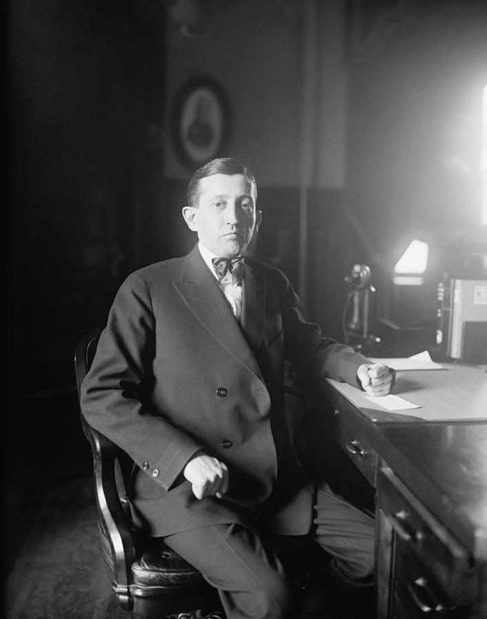 History Photograph - Will Hays 1879-1954, A Lawyer by Everett