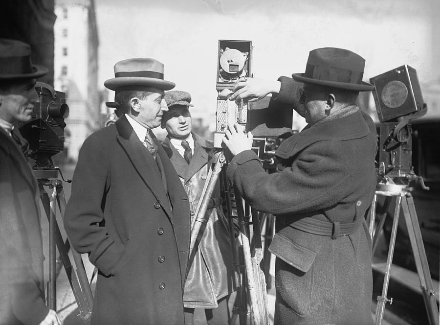 History Photograph - Will Hays 1879-1954, As Postmaster by Everett