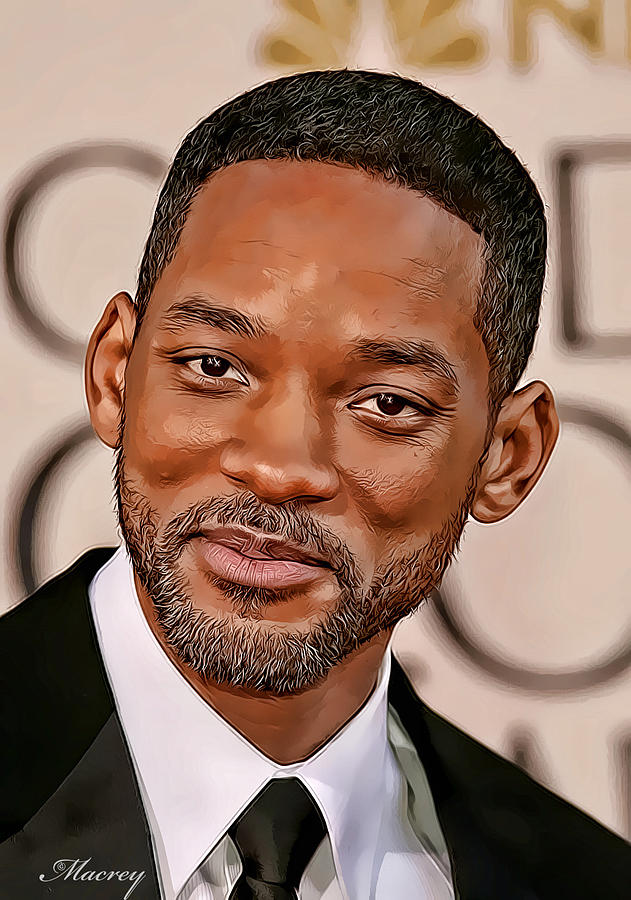 Will Smith Painting by...